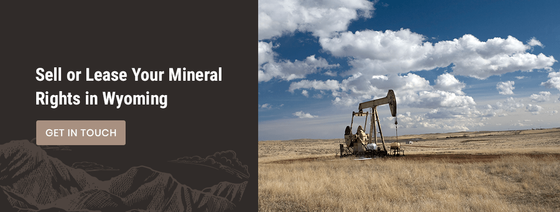 sell or lease your mineral rights in wyoming